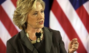 Hillary Clinton makes a speech at New York University on capital gains taxes