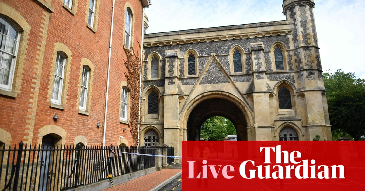 Police say Reading stabbings now treated as a terrorist incident – live updates   World news