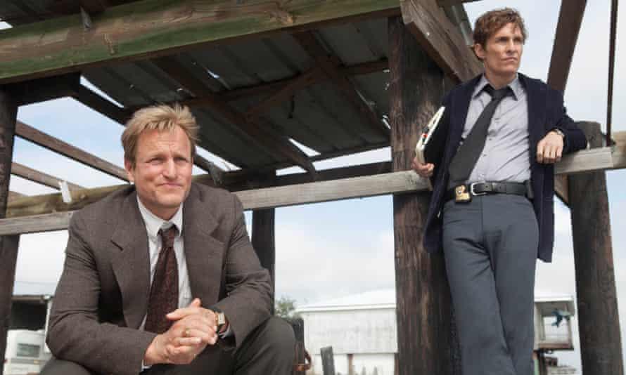 Dark side: with Matthew McConaughey in True Detective.