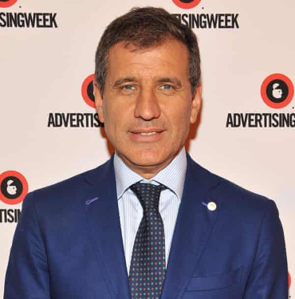Gustavo Martinez poses at the The Latino Spring panel during Advertising Week 2015 AWXII at the Times Center Stage on September 29, 2015 in New York City. (Photo by D Dipasupil/Getty Images for AWXII)