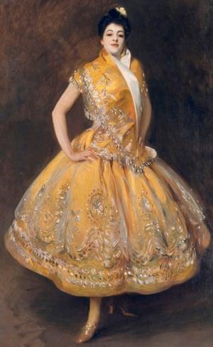 John Singer Sargent, La Carmencita, 1890.
