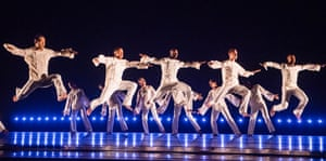 A scene from Awakening by Alvin Ailey American Dance Theater at Sadler's Wells