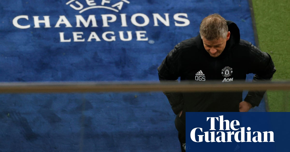Solskjær says Manchester United didnt turn up before Champions League exit