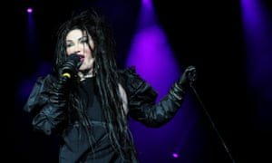 Pete Burns … a voice like a ravenous lion.