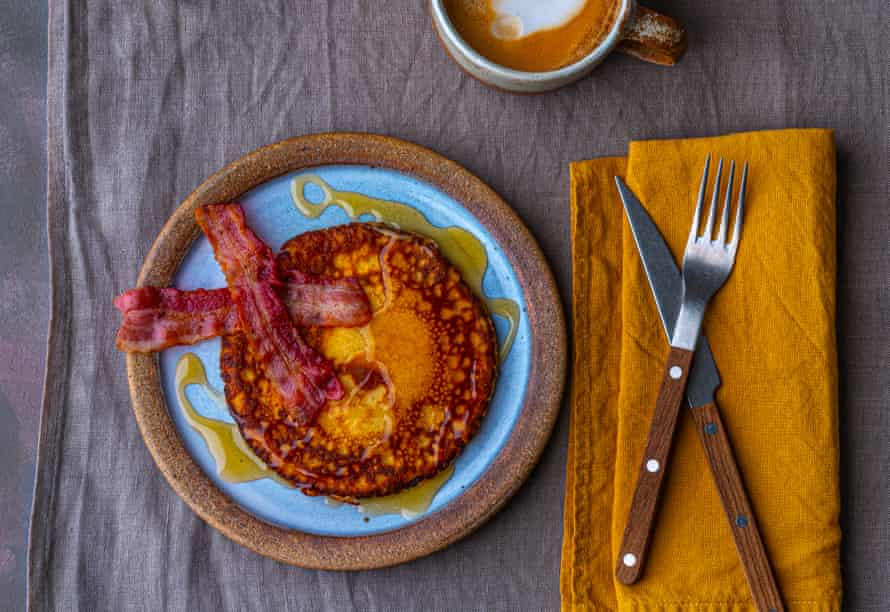Nigella Lawson's American breakfast pancakes.