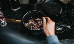 About a third of US households cook primarily with gas.