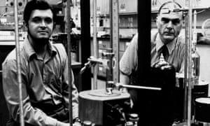 Mario Molina, left, and Sherwood Rowland