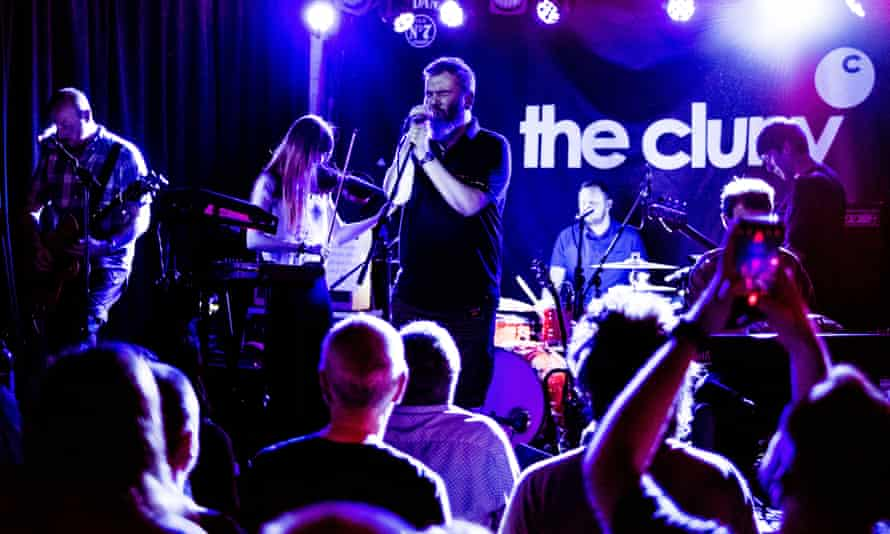 Arab Strap perform at The Cluny in Ouseburn.