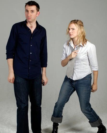 Alex MacLaren and Jana Carpenter, improvisation teachers at the Spontaneity Shop.
