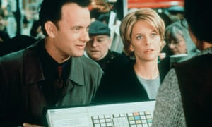 Behind the times … Tom Hanks and Meg Ryan in You've Got Mail.