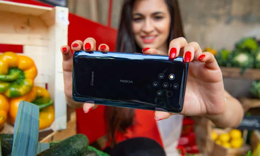 Nokia says you can never have enough cameras on the back of your phone with the new 9 PureView.