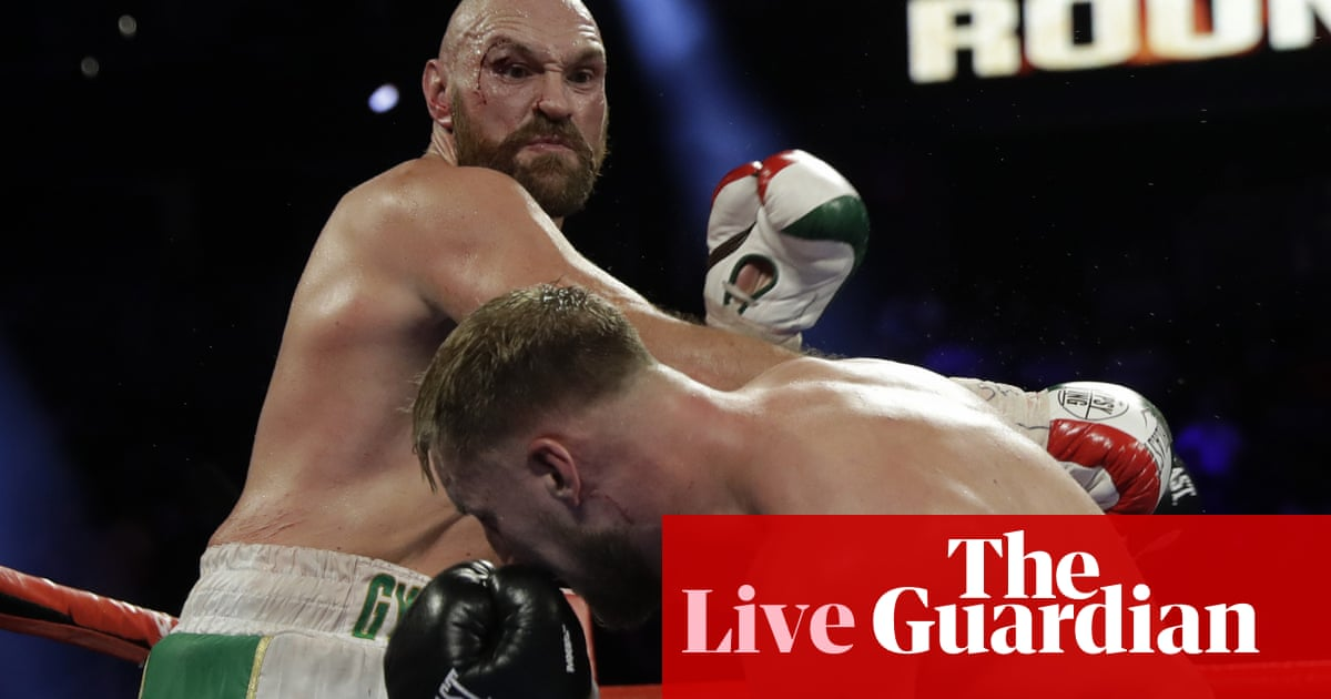 Tyson Fury defeats Otto Wallin by unanimous decision – live!
