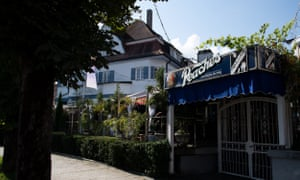 The Peaches cocktail bar in Garmisch-Partenkirchen, where the American woman infected with coronavirus visited.