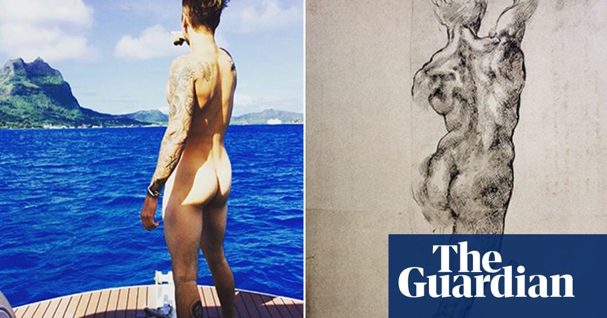 In bora bora naked bieber justin Justin Bieber