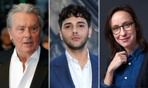 Alain Delon, left, gets an honorary Palme and there are much-anticipated entries from Xavier Dolan and Céline Sciamma.
