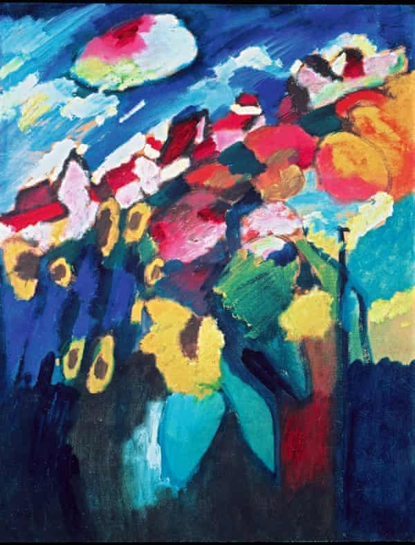 Wassily Kandinsky's Murnau The Garden II (1910)