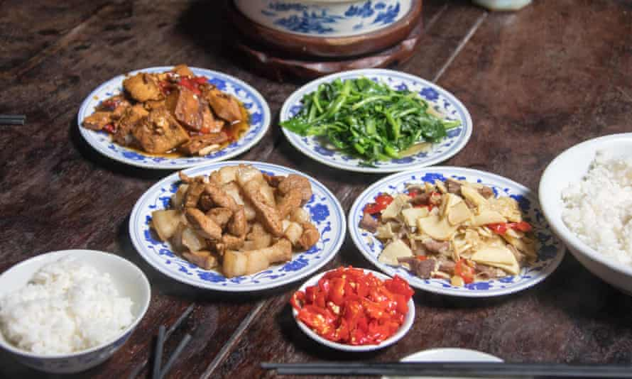 MSG is commonly added to Chinese food.