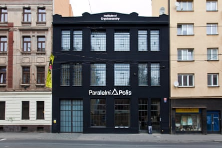 Parralel Polis in Prague, HQ of the Institute of Cryptoanarchy