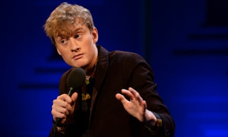Exquisite writing … James Acaster.