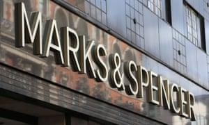 A Marks & Spencer shopfront