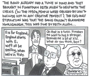 The Story of 'World in Motion''Raver Bert Millichip' is my favourite character in any of these cartoons, and I've spent every week since this was published just before the 2018 World Cup thinking of ways to reintroduce him. Rave on, Bert; rave on. Published: 1 June 2018
