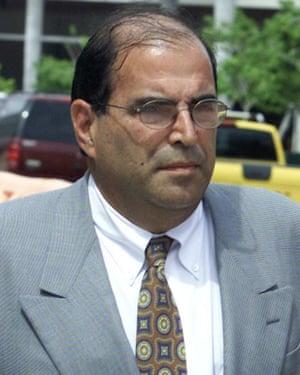 Armando Fernandez Larios seen in Miami in 2003.