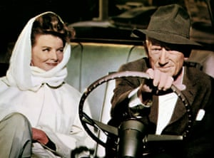 Hepburn and Spencer Tracy in Guess Who's Coming to Dinner