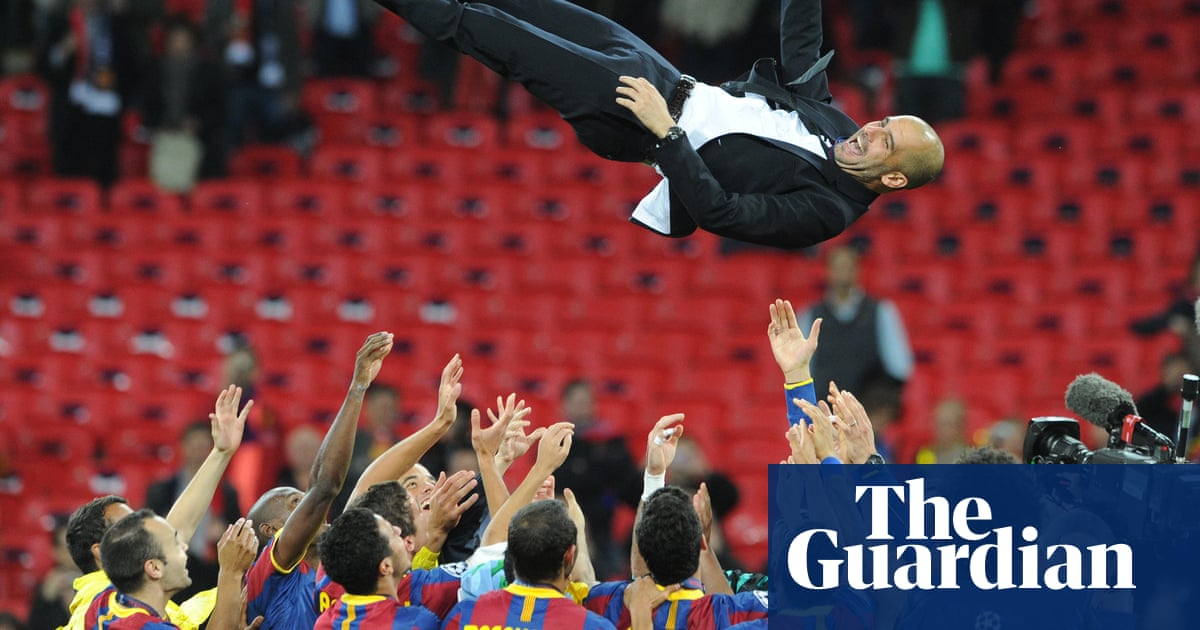 Take The Ball, Pass The Ball: trailer for documentary on Barcelona's Guardiola years – video
