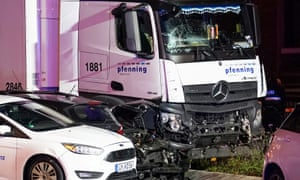 Eight injured as stolen lorry crashes into cars in Germany - The Reports