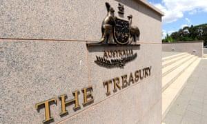 The Treasury building