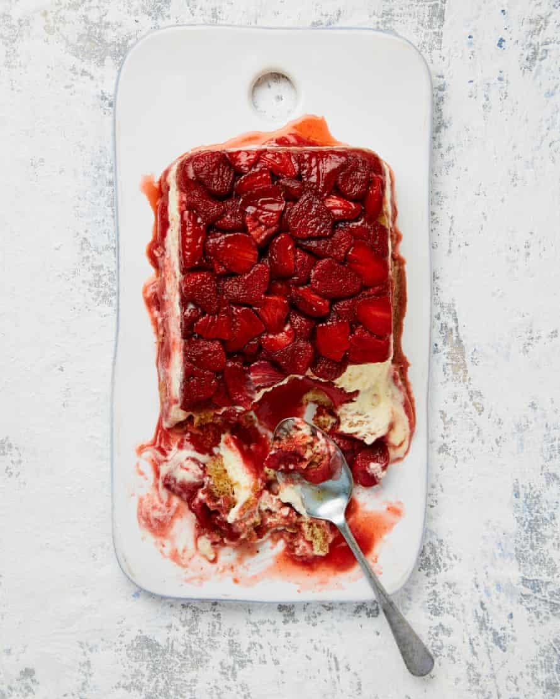 Yotam Ottolenghi's strawberry tiramisu cake.