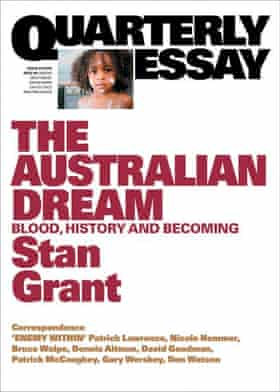 Book cover for Quarterly Essay 64: The Australian Dream: Blood, History and Becoming by Stan Grant