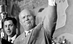 Soviet leader Nikita Krushchev