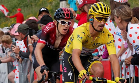 Tour de France: Thomas 'itching to go' as Alaphilippe 'changes plan' to preserve lead – video
