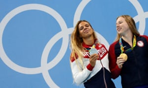 American Lilly King and Russia's Yulia Efimova