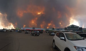 Safeway store, Timberlea in Fort McMurray. Taken on 3 May