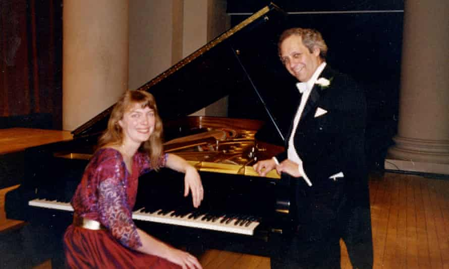 Anthony Goldstone and his wife, Caroline Clemmow, played duets around the world and recorded extensively