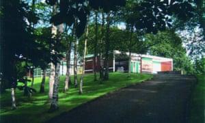 High Sunderland, designed by Peter Womersley, in he Scottish Borders.