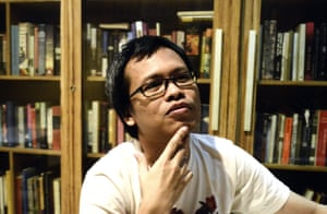 Man Booker winner, Eka Kurniawan.