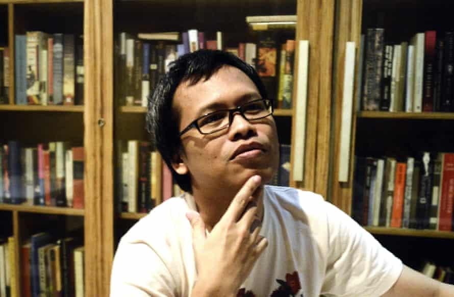 Man Booker winner, Eka Kurniawan.