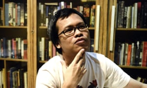 'I didn't like going to school when I was young. And I turned out fine' ... author Eka Kurniawan.