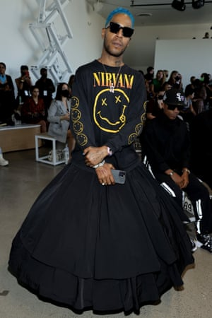 New York: Kid Cudi attends Studio 189 during NYFW: The Shows at Gallery at Spring Studios