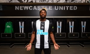 Allan Saint-Maximin has been unveiled as Newcastle's latest attacking signing after the capture of Joelinton.