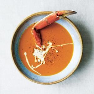 Gill Mellor's crab soup.