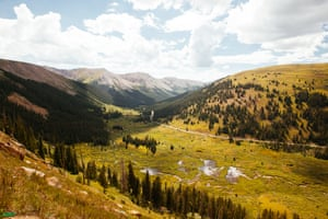 The Independence Pass in Colorado