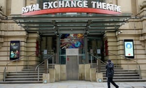 The Royal Exchange in Manchester, which projects that 65% of its permanent roles could be made redundant without further support.