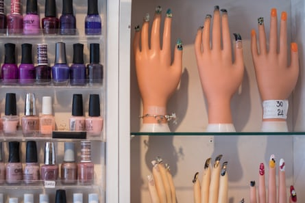 Low-cost nail bars are flourishing on the high street.