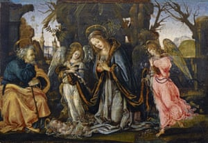 The Nativity with Two Angels, c.1490s by Filippino Lippi
