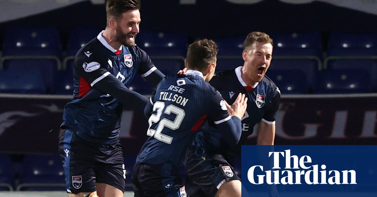 Celtic defeat to Ross County pushes Rangers one step closer to title