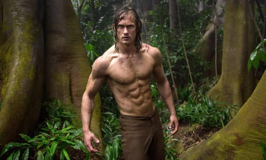 He man ... Alexander Skarsgård in Tarzan
